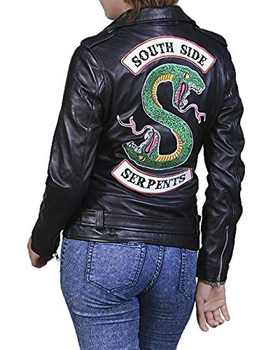ThreadNeedle Riverdale Southside Serpientes Enchufe Chaqueta ...