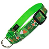 St. Patrick's Day Martingale Dog Collar