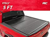 Rough Country Low Profile Hard Tri-Fold (fits) 2005-2020 Frontier | 5 FT Bed | Truck Tonneau Cover | 47520501