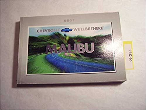 2001 Chevrolet Malibu Owners Manual Chevrolet Amazon Com Books