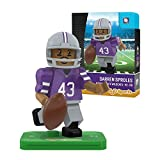 NCAA Kansas State Wildcats Darren Sproles Gen 2 Player Mini Figure, Small, Black