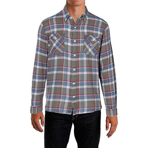 Ralph Lauren Mens Plaid Button Up Shirt grnblumulti - Lauren Ralph Polo India
