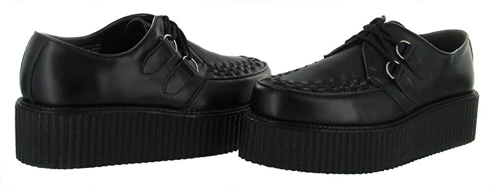 e86b23888c Demonia CREEPER-402 Blk Leather UK 12 (EU 45)  Amazon.co.uk  Shoes   Bags