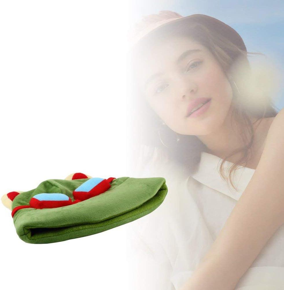 ZMW Cappello Cosplay Cosplay Cappello Caldo Inverno Adulto Festa Bambini Cool Divertente Cappellino Cosplay Verde