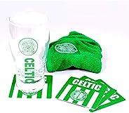 Celtic FC Pint Glass Mini Bar Set