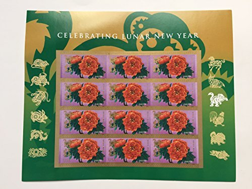 2016 Forever Lunar New Year Monkey Stamps (Sheet of 12) for $<!--$6.07-->