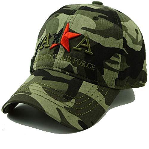 LONIY Spring Summer Mens Army Camo Cap Cadet Casquette Desert Camo Hat Baseball Cap Hunting Fishing Desert Hat