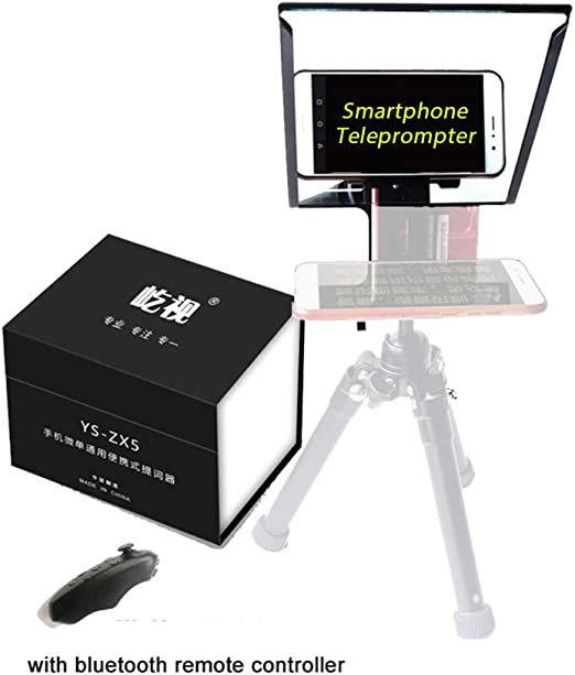Teleprompter portátil para Smartphone, para Estudio fotográfico ...