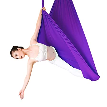 Yoga Aéreo Hamaca De Yoga Columpio De Yoga Antigravedad ...