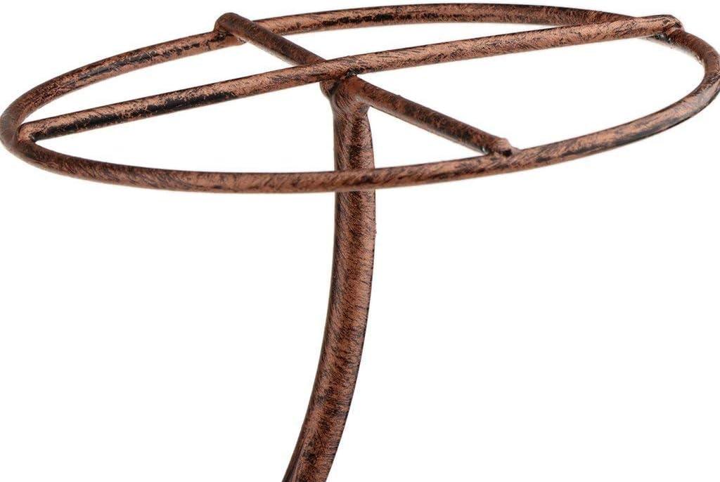 Backbayia Rack De Stockage De Casquette Pr/ésentoir /à Chapeaux Support De Chapeau Pr/ésentoir Stand M/étallique