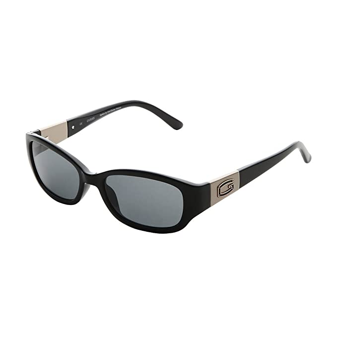 GUESS GU7262-53C95, Gafas de Sol para Mujer, Black/Gold, 53