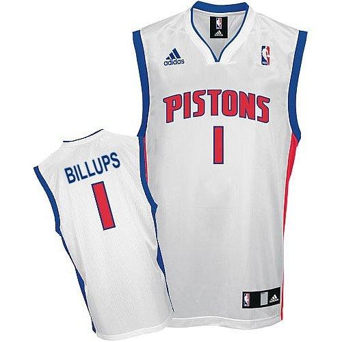 Chauncey Billups Detroit Pistons NBA Youth Jersey White (Youth Medium Size 10-12)