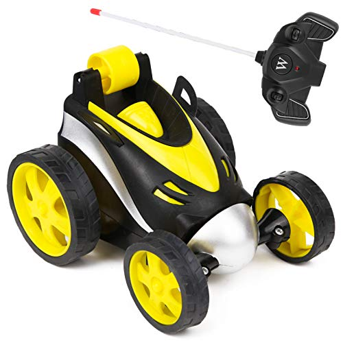 PROLOSO Radio Remote Control Stunt Racing Car High Speed 360 Degree Spinning Kids Party Favors(Battery Not Included)