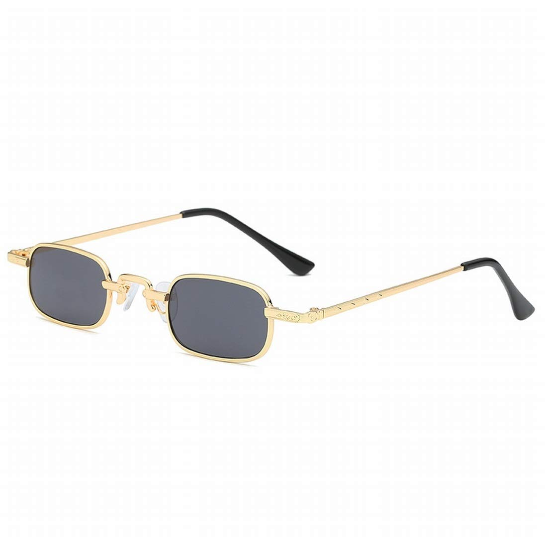 Color : A Shiduoli Rechteckige Sonnenbrillen mit kleinem Rahmen f/ür M/änner und Frauen