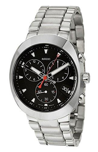 Rado-D-Star-Quartz-Chronograph-Ceramos-Steel-Mens-Watch-Calendar-R15937153