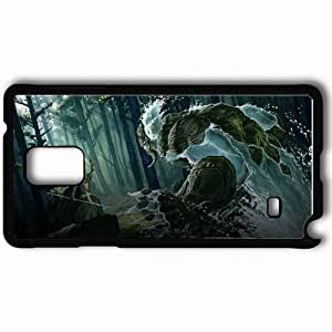 Personalized Samsung Note 4 Cell phone Case/Cover Skin Age Of Wonders Iii Black