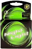 Night Light Glow in the Dark Condoms Retail Box - 3 Pack