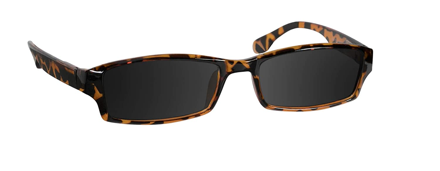 Amazon.com  Reading Sunglasses 2.5 Tortoise Sun Readers for Men and Women  Stylish Look and Crystal Clear Vision When You Need It! Comfort Spring Arms  ... 70ad0711f854