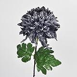 Artificial Flowers Yiting Chrysanthemum decorated silk flower home, gray