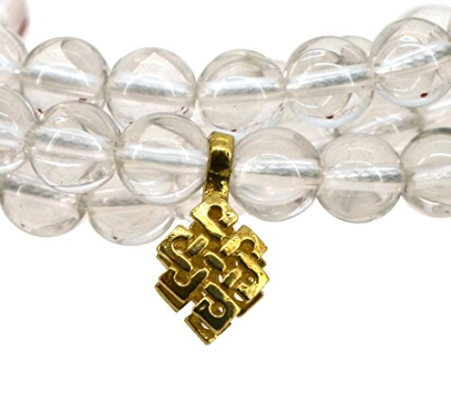 Tibetan 108 Zen Buddhist Yoga Meditation Prayer Beads Necklace
