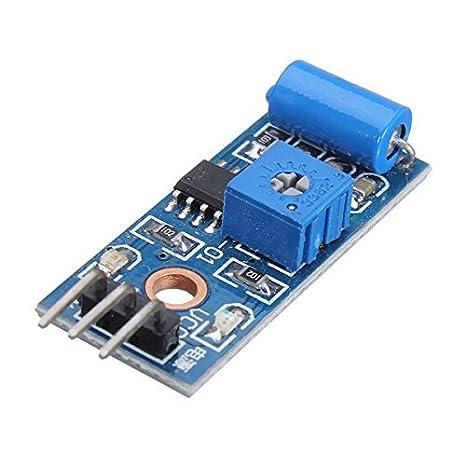 Calli Módulo sensor detector de vibración 5pcs sw-420 nc para Arduino: Amazon.es: Electrónica
