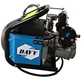 Davv 110v 60hz Mini Air Compressor High-Pressure Paintball Fill Station for Rifle PCP Airgun Tanks
