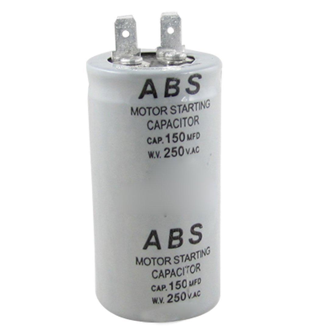 TOOGOO(R) ABS Serie 150MFD 150UF 250V AC Condensador de arranque del motor SHOMAGT19395