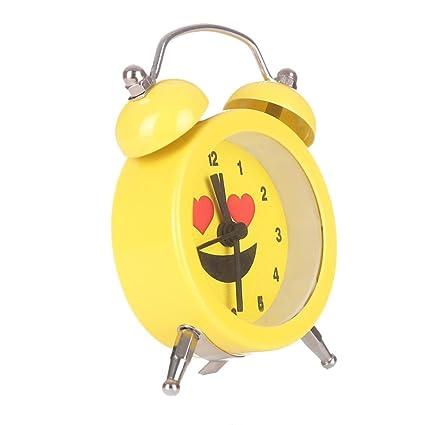 Amazoncom Alarm Clock For Student Liu Nian Emoji Emoticon Twin