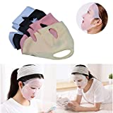Facial Yoga Certification - Reusable Anti-off Silicone Moisturizing Sheet Mask Cover, US FDA certification (Multicolor)