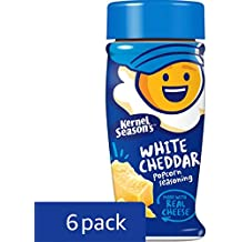 Kernel Season's, Popcorn Seasoning, White Cheddar, 2.85 ounce (Pack of 6)