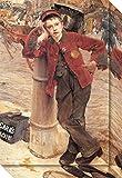 Canvas Art Gallery Wrap 'Boy, 1882' by Jules Bastien-Lepage offers
