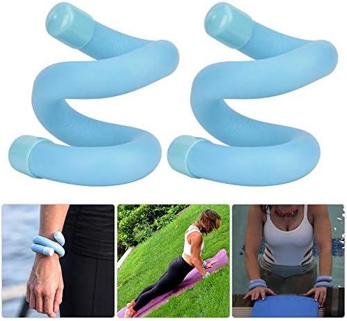 T best Braccialetto 1Pair Weight, Allenamento della Forza Portatile Peso del Polso Attrezzature Sportive Esercizio per Yoga Fitness Camminata Nuoto