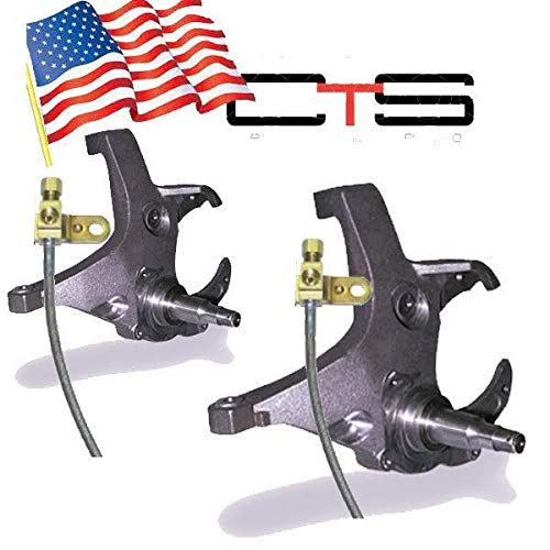 C1500 2wd Ext Cab - Chassis Tech 1988-98 Chevy C1500 C2500 (6lug) 2WD 4