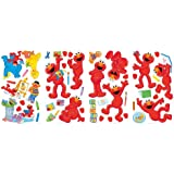RoomMates RMK2076SCS Sesame Street Elmo-Centric Peel and Stick Wall Decals