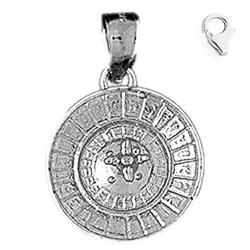 Sterling Silver 24mm Roulette 8.5