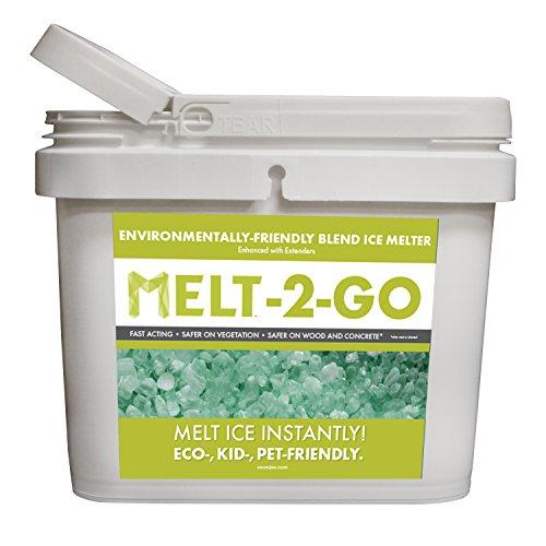 Snow Joe AZ-25-EB-BKT Melt-2-Go Nature + Pet Friendly CMA...