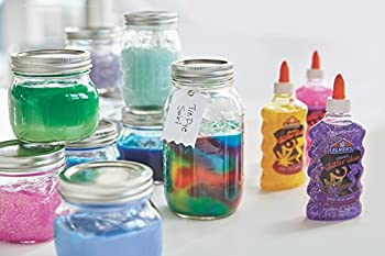 Elmer's Liquid Glitter Glue, Washable, Assorted Colors, 6 Ounces Each, 3 Count - Great For Making Slime 5