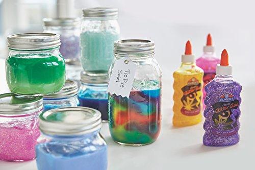Elmer's Liquid Glitter Glue, Washable, Purple, 6 Ounces, 1 Count - Great For Making Slime Photo #12