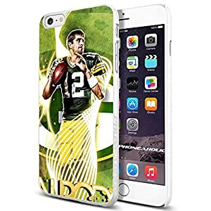 diy zhengNFL Green Bay Packers Aaron Rodgers, Cool iphone 5c Smartphone Case Cover Collector iphone TPU Rubber Case White