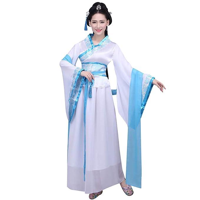 KINLOU Trajes Chinos para Mujeres - Traje Tradicional ...