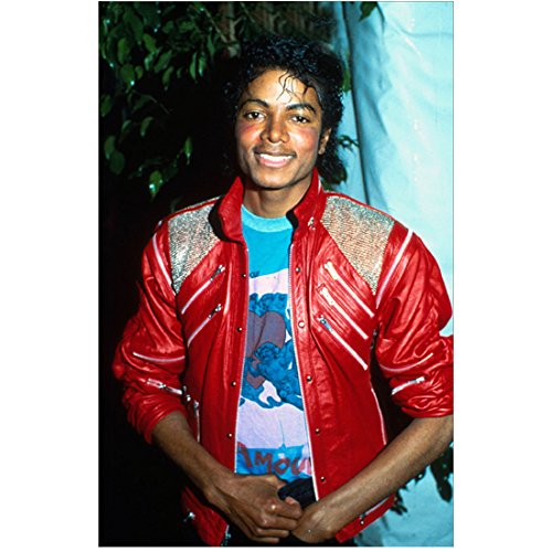 Michael Jackson Red Jacket Photo