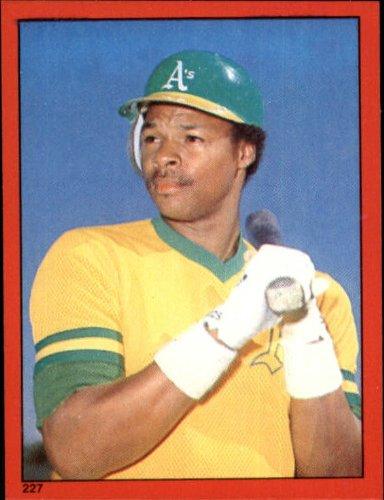 1982 Topps Baseball Sticker #227 Dwayne Murphy Mint - 1982 Baseball Topps Sticker
