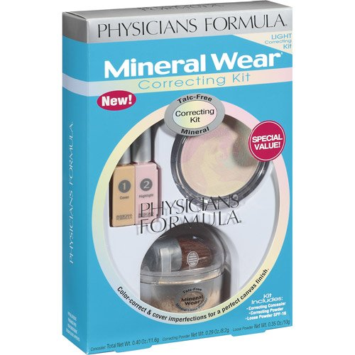 Physicians Formula Light Clair Mineral Wear Correcting Kit (Packaging May Vary)