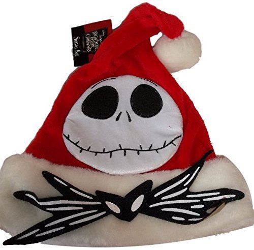 Disney Nightmare Before Christmas Jack Skellington Santa Hat Red by Nightmare Before Christmas