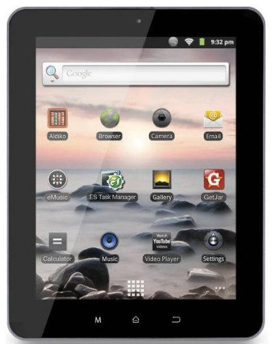 Coby Kyros 8-Inch Android 2.3 4 GB Internet Tablet  with Capacitive Touchscreen - MID8127-4G (Black) (Kyros Tablet Coby Android)