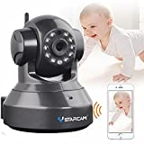 VSTARCAM C37A-B HD 960P Indoor Wireless WIFI IP Camera P2P Onvif Multi-stream Night Vision Two-way Voice Network CCTV Baby Monitor Mobile Phone Remote Monitoring (Maximum support 128G TF Card)(Black)