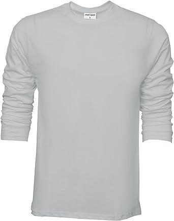 Camiseta básica de Raftaar® para hombre, de manga larga, 100 ...