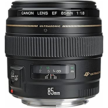 Canon EF 85mm f/1.8 USM Medium Telephoto Lens for Canon SLR Cameras Fixed