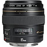 Canon EF 85mm f/1.8 USM Medium Telephoto Lens for Canon SLR...