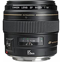 Canon Ef 85mm F1.8 Usm Medium Telephoto Lens For Canon Slr Cameras - Fixed